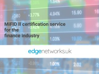 Edge Networks and APC Time launch MiFID II certification service