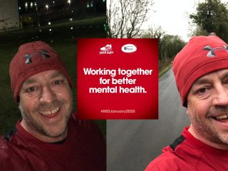 Edge Director runs into the New Year with a fundraising Red January challenge