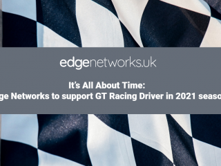 It's All About Time: Edge Networks to support GT Racing Driver in 2021 season