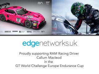 Edge affiliated racing driver Callum Macleod returns to the GT World Challenge Europe Endurance Cup with RAM Racing.